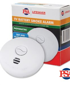 Lifesaver Photoelectric Battery Operated Smoke Alarm