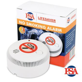 Lifesaver Battery Powered No Smoking Cigarette, Cigar & Pipe Smoke Alarm