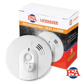 Lifesaver 240VAC Powered Heat Alarm