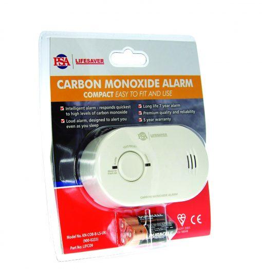 Lifesaver 9V Carbon Monoxide Alarm-634