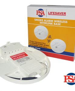Lifesaver Wireless Interconnect Base For Smoke Alarms