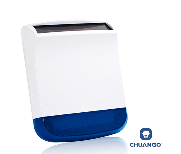 Chuango External Solar-Powered Siren Strobe