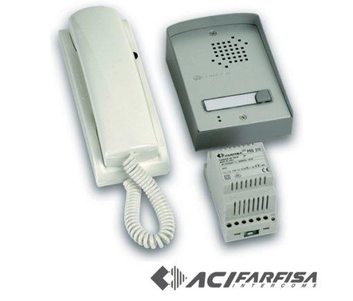 Farfisa 'UP' Flush Mount Audio Intercom Kit