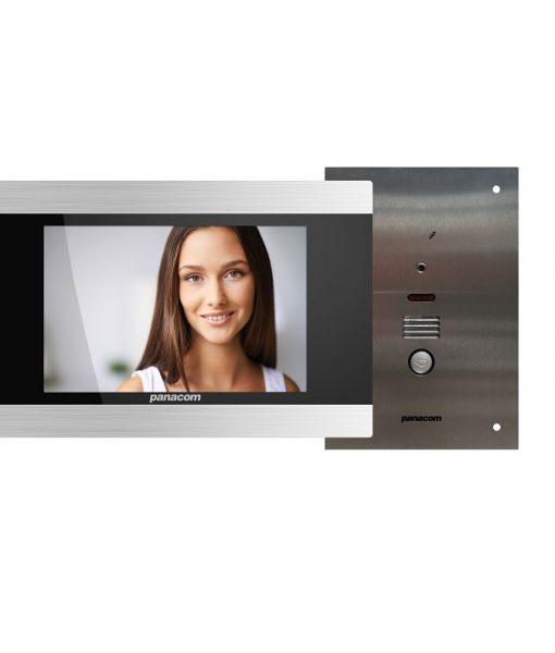 Panacom 830 Flush Mount Video Intercom Kit – PAN830FK Intercom & Access Control Solution