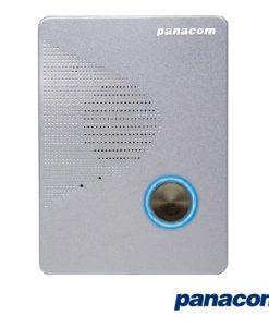 Panacom Q916 Audio Intercom Surface Mount Outdoor Station - Silver