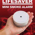 Lifesaver PE10 Mini Smoke Alarm with Photoelectric sensing technology